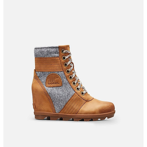 Sorel Lexi Wedge Boot Camel Brown