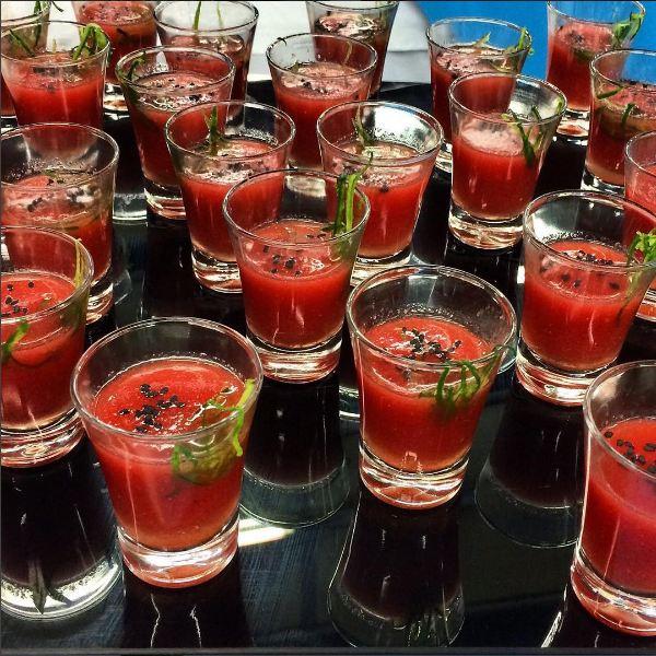 Gaspacho de melancia