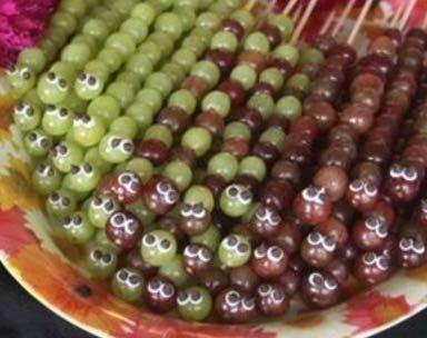 Espetinho de uva