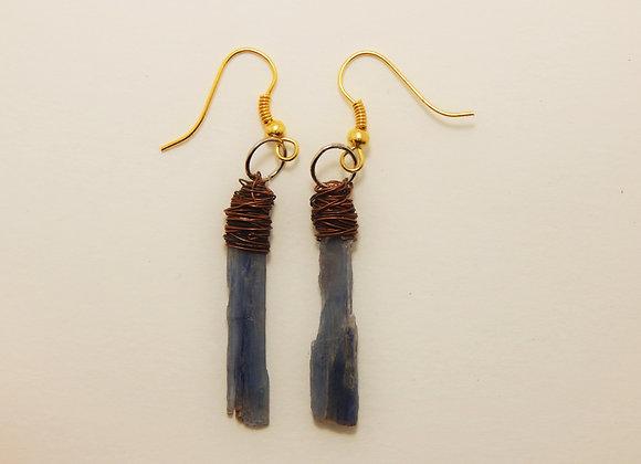 Earring, Single - Kyanite