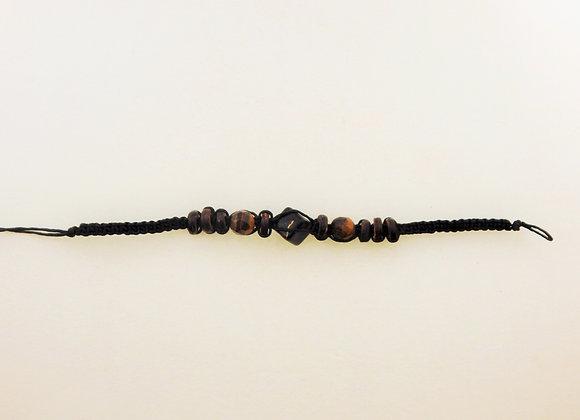 Bracelet - Striped Sight Black