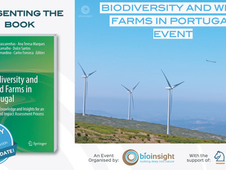 "PRESENTING THE BOOK ""BIODIVERSITY AND WIND FARMS IN PORTUGAL"""