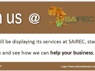 Join us @ SAIREC