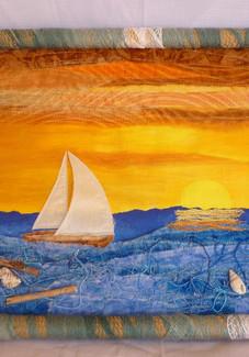 tableau textile marin.JPG