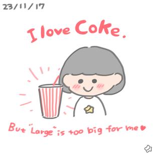 23/11/17 I love Coke!!