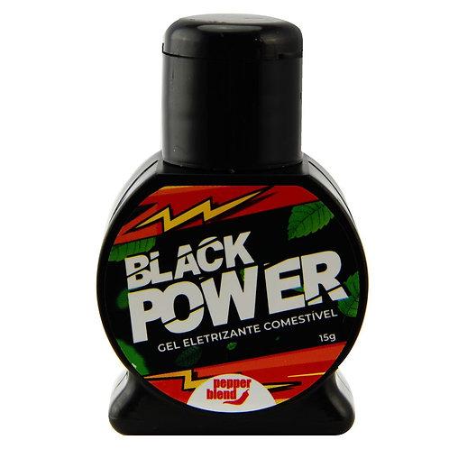 BLACK POWER ELETRIZANTE COMESTÍVEL 15G PEPPER BLEND