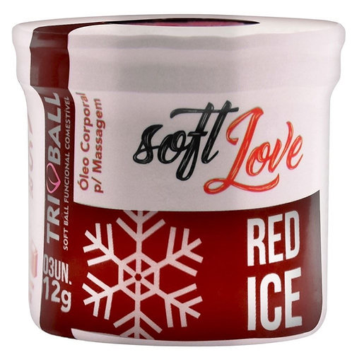 SOFT BALL TRIBALL RED ICE 12G 03 UNIDADES