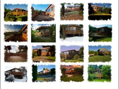 Log cabinholiday accommodation in Snowdonia