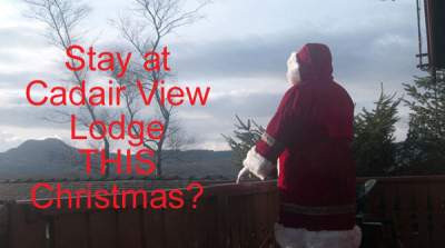 Will you see Santa in Snowdonia?