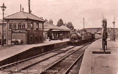 Long since gone but Trawsfynydd village had 2 railway stations