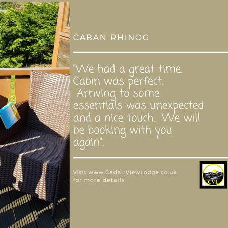 Caban Rhinog Guest Review