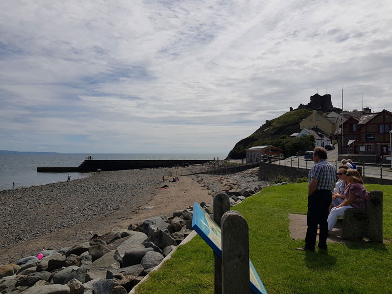 Criccieth Prom and Castle