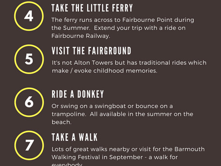 Top 10 Things To Do In Barmouth