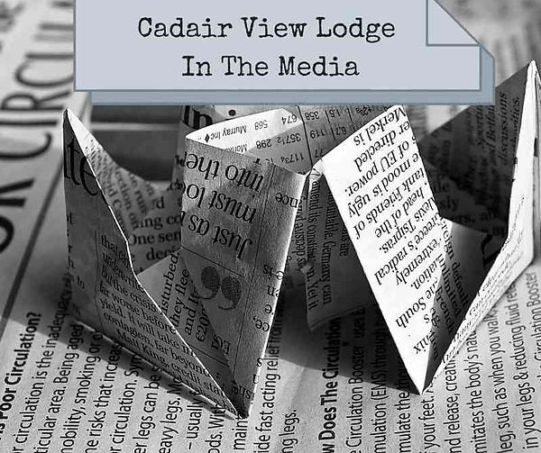 Cadair View Lodge In The Media