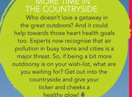 Heart Health Improved By Countryside Visits