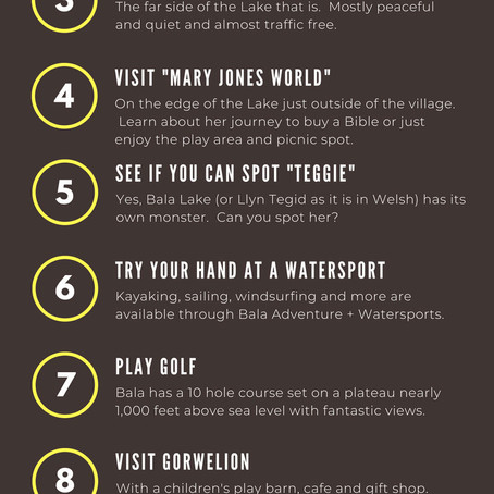 10 Things To Do In Bala