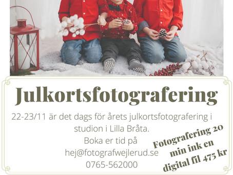 Julkortsfotografering