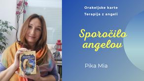 Sporočilo angelov - tedenski namig