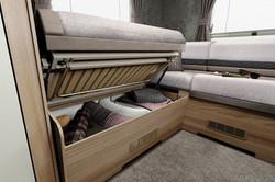Swift KonTiki Sport Motorhome I Under Bed Storage I Coachbuilt Leisure Vehicles I Nuneaton I UK