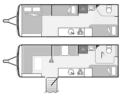 LIV. Swift Sprite Quattro FB I Wheelchair Accessible Caravan I Coachbuilt I Warwickshire I UK