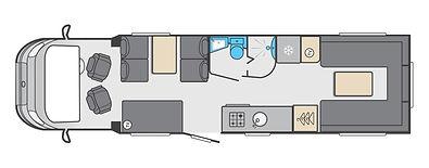 2021 Swift KonTiki 649 I Leisure Vehicles by Coachbuilt I Nuneaton I Warwickshire