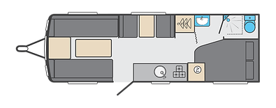 2021 Swift Sprite Quattro FB I Leisure Vehicles by Coachbuilt I Nuneaton I Warwickshire