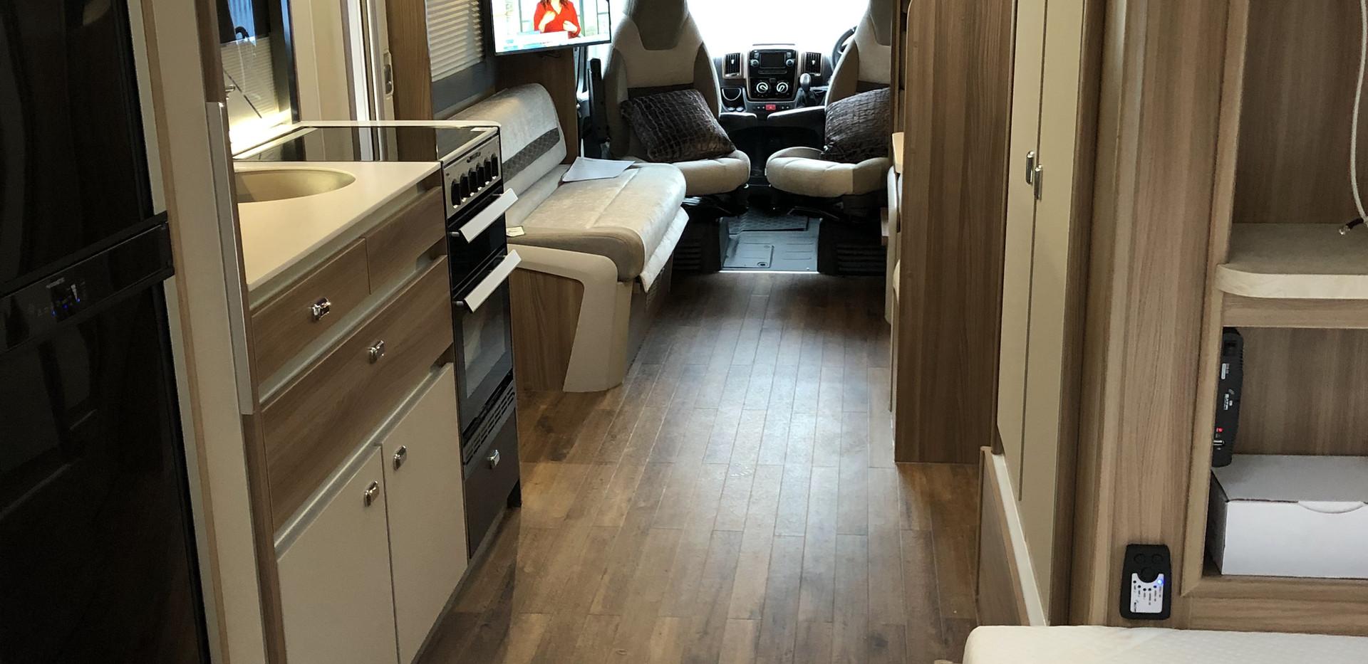 Wheelchair Accessible Motorhome, Wheelchair Accessible Touring Caravans, Wheelchair Accessible Vehicles I Coachbuilt I England