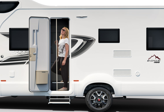 Swift Edge 494 I Leisure Vehicles by Coachbuilt I Nuneaton I Warwickshire