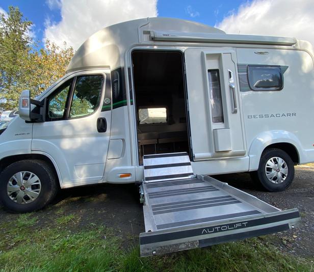 2017 LIV. BESSACARR 424 I Wheelchair accessible motorhome I Coachbuilt I Nuneaton I UK