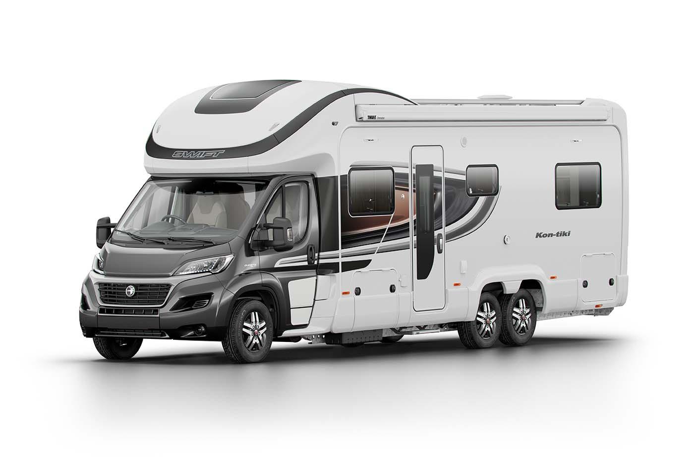 Swift KonTiki 649, Auto Available at Coachbuilt I Nuneaton