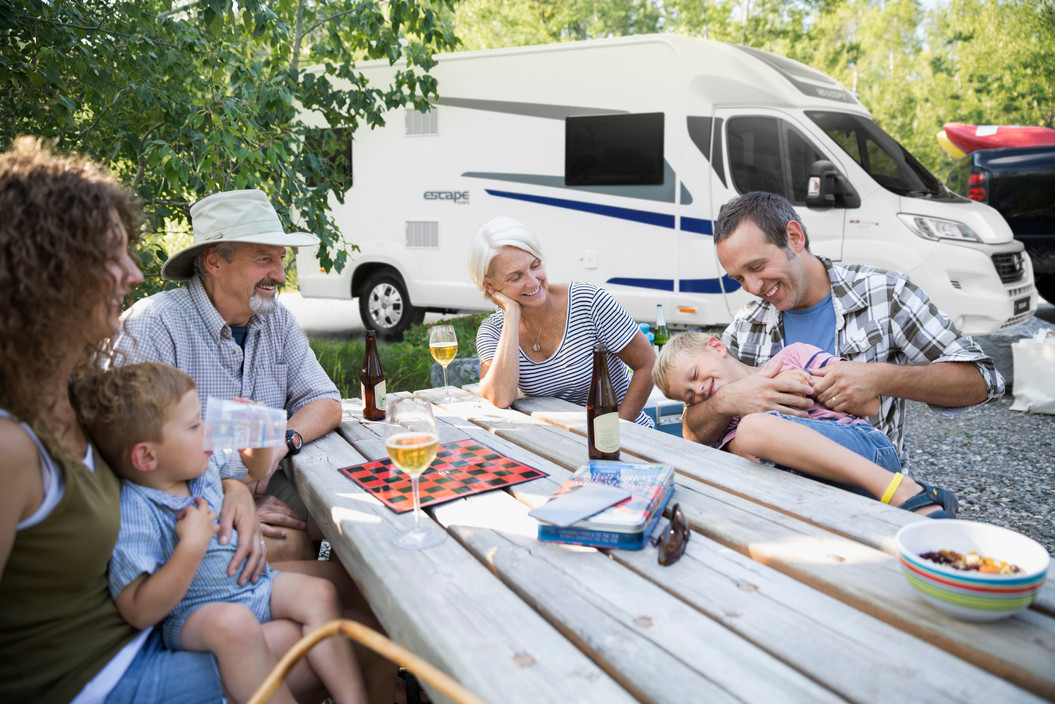 Wheelchair accessible motorhome, caravans and everyday vehicles