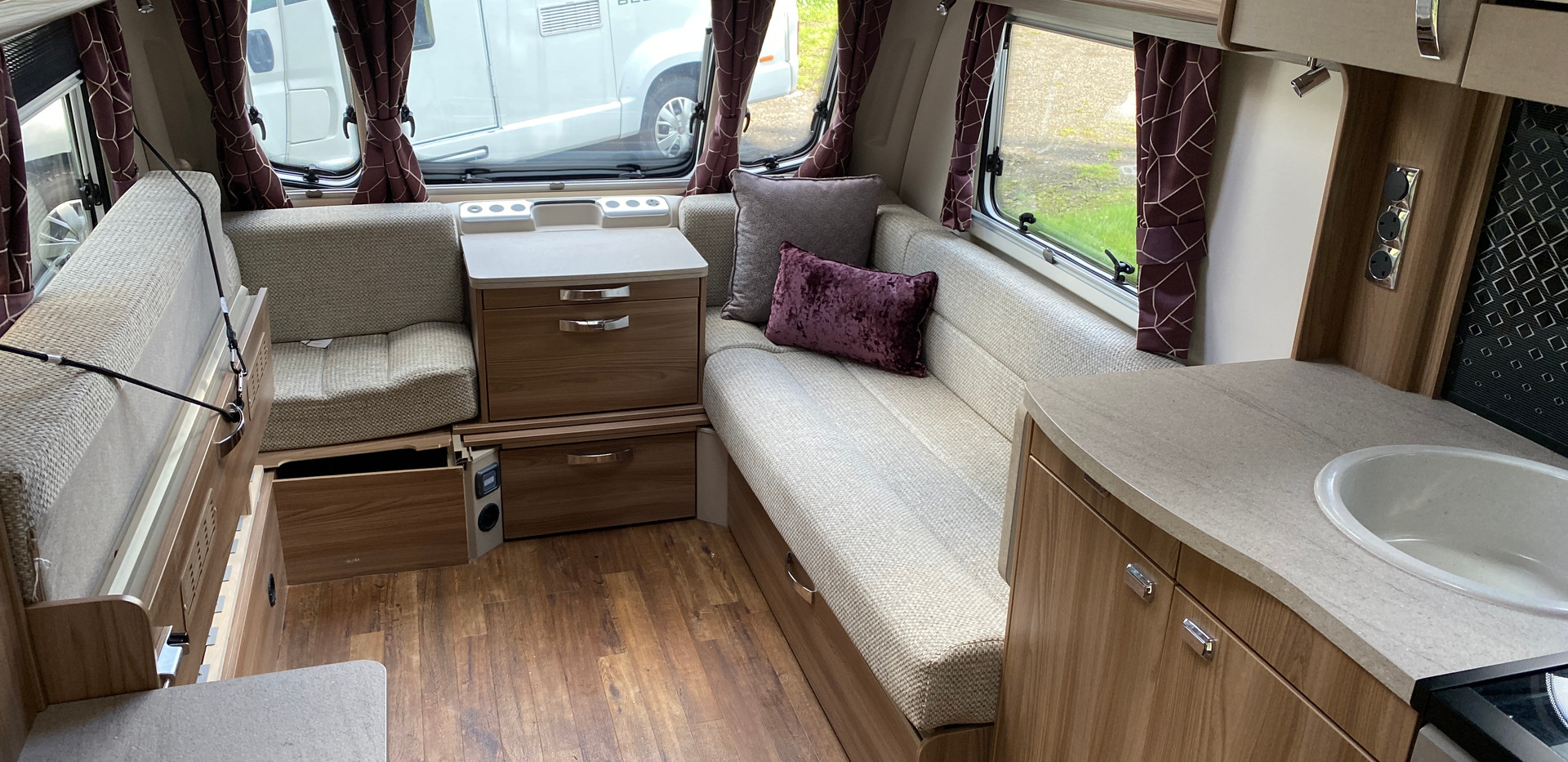 LIV Swift Challenger 480 I Wheelchair Accessible Caravan I Coachbuilt I United Kingdom