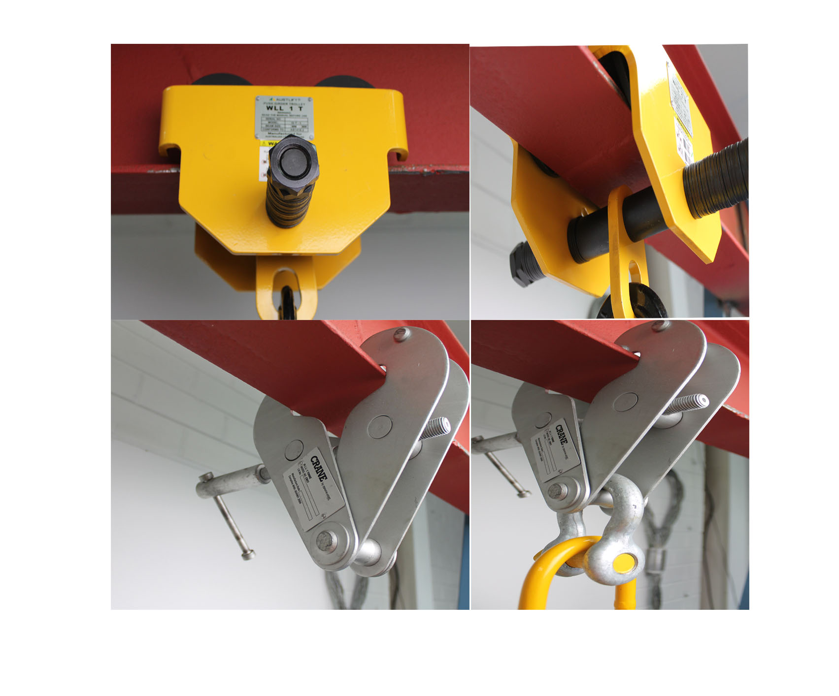 Girder Trolley & clamp