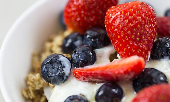 Yogur con fruta