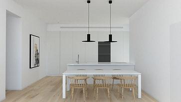 סימפל סטודיו, תכנון ועיצוב פנים, הדירה הלבנה