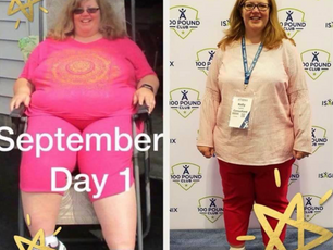 Kelly: Larger weight loss goal - 85 lbs!
