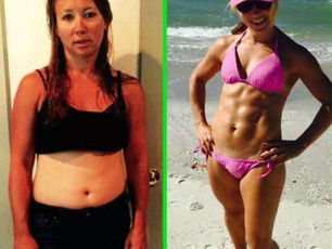 Christal: Flat belly and abs!