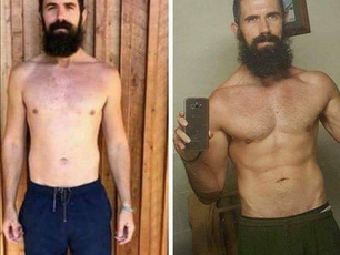 Brendan's All Vegan muscle transformation