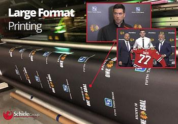 Large Format Backdrop Print