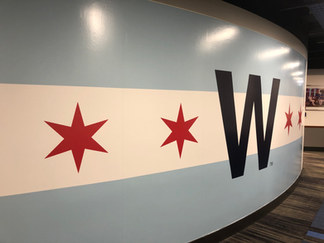 Chicago Cubs Player Clubhouse Re-branding