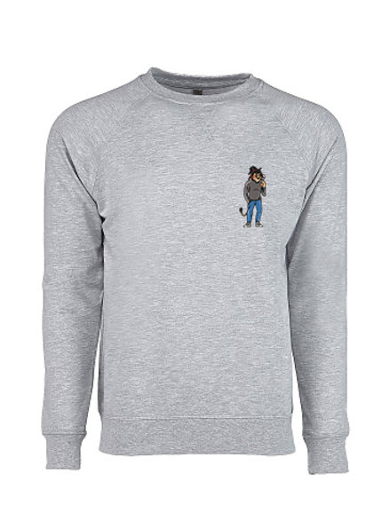 PULLOVER - HEATHER GRAY - LION