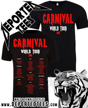 CARNIVAL WORLD TOUR 2018