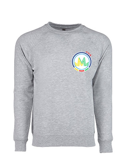 PULLOVER - HEATHER GRAY - AUG