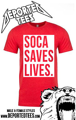 SOCA SAVES LIVES