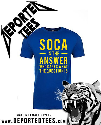 SOCA IS THE ANSWER