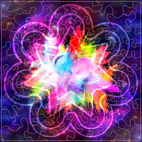 Lichtkristallpuzzle Solavana