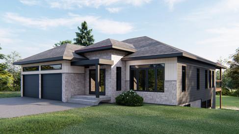 plan maison avec garage gatineau