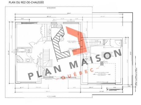 plan de maison avec garage belœil