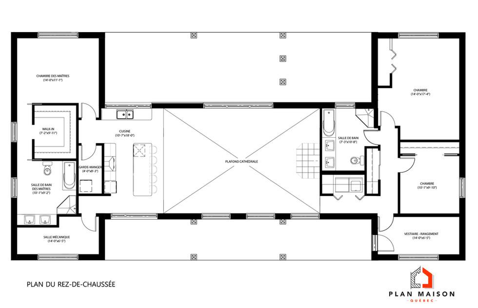 plan de chalet saguenay