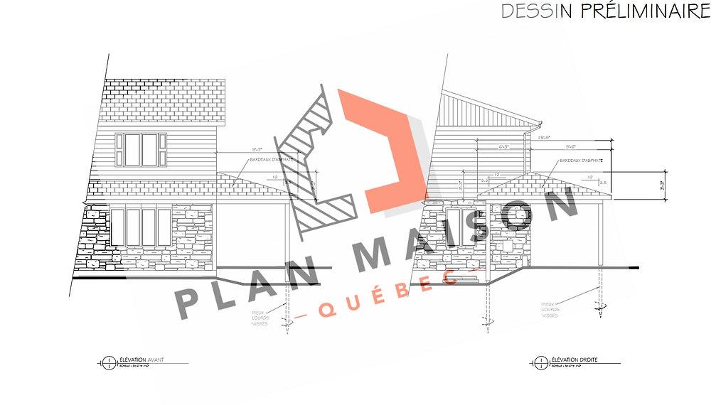 plan de maison mirabel